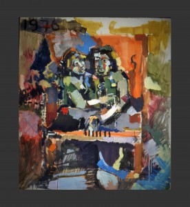 176]   BERLIN NIGHTS - OIL