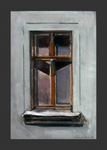 190]    BERLIN WINDOWS - OIL